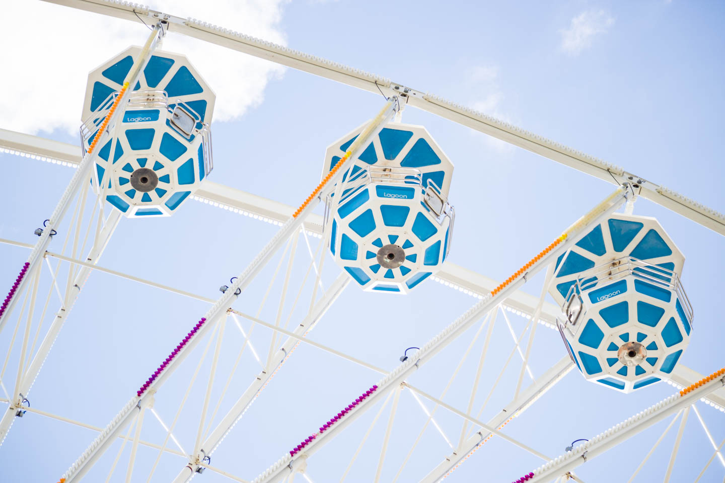 The ferris wheel at Lagoon