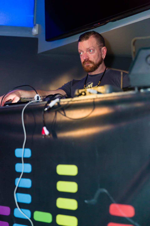 DJ at the Elevation Utah party at JAM
