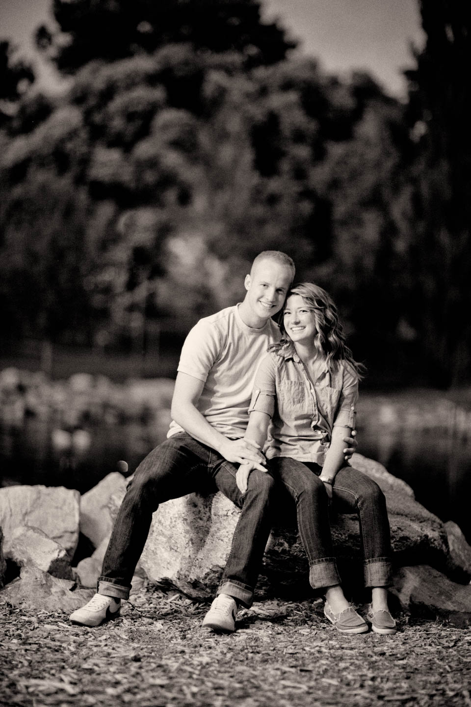 Engagements in an Orem park
