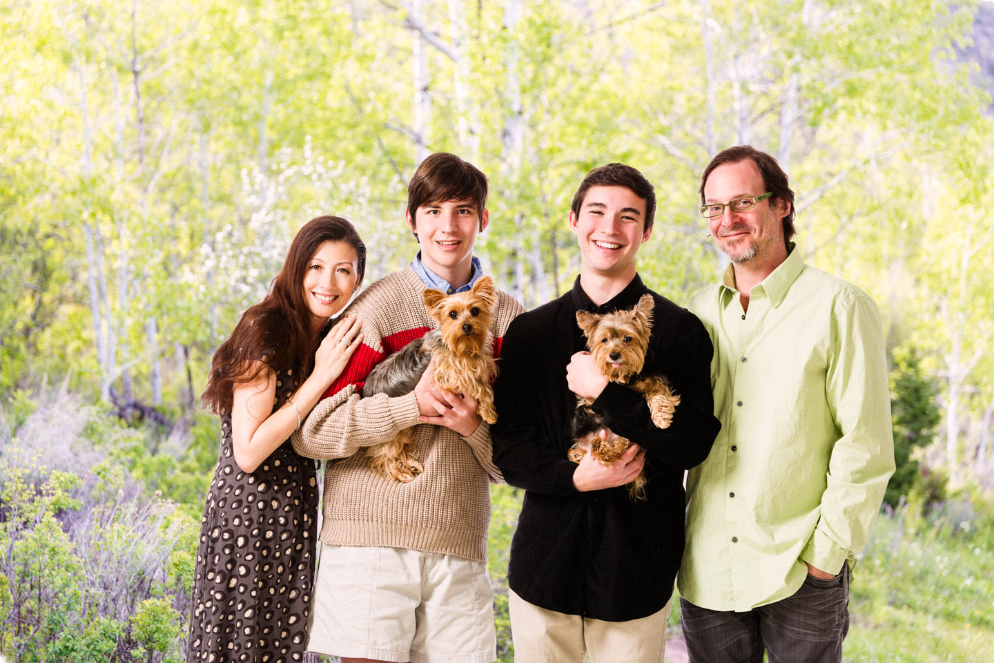 Family Portraits In Studio With Some Creative Photoshop Dav D Photography