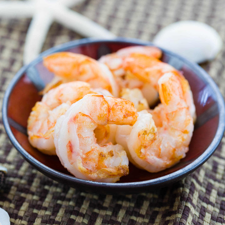 Shrimp ready for entree
