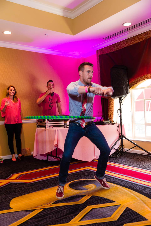 Hula hoop contest