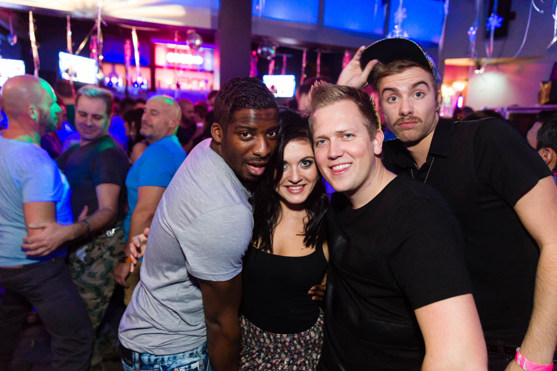 People from LA enjoying the Utah Club scene