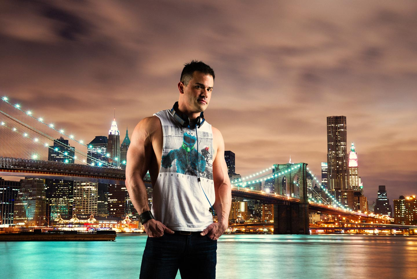 Robbie added to New York to promote his DJ business