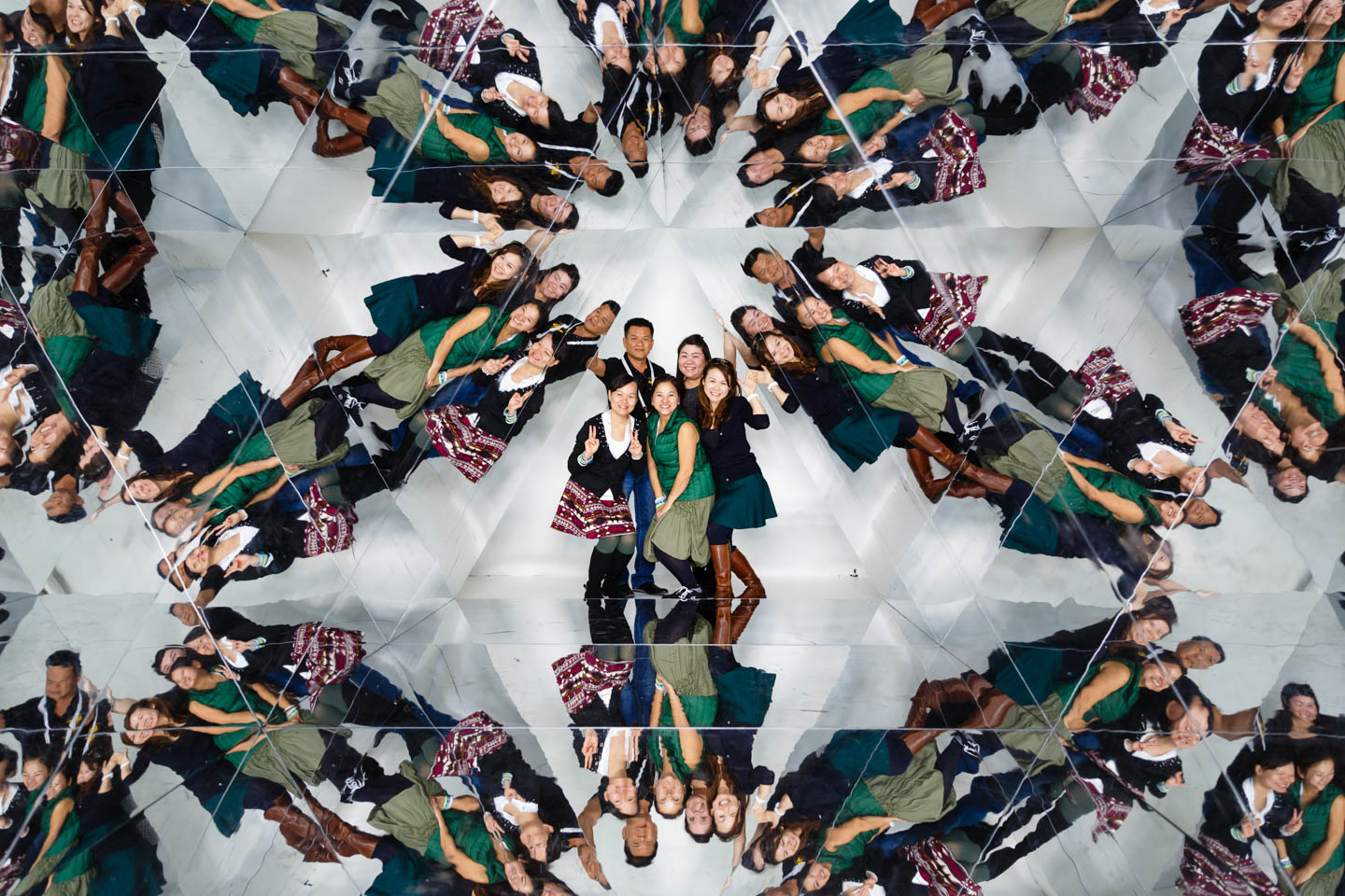 There were a number of photo booths including a kaleidoscope