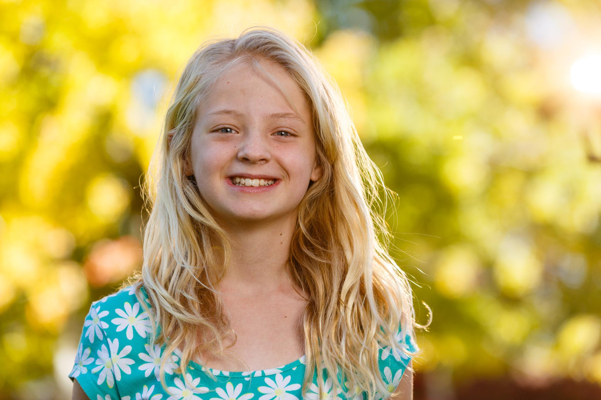 Julianne's portrait in Autumn