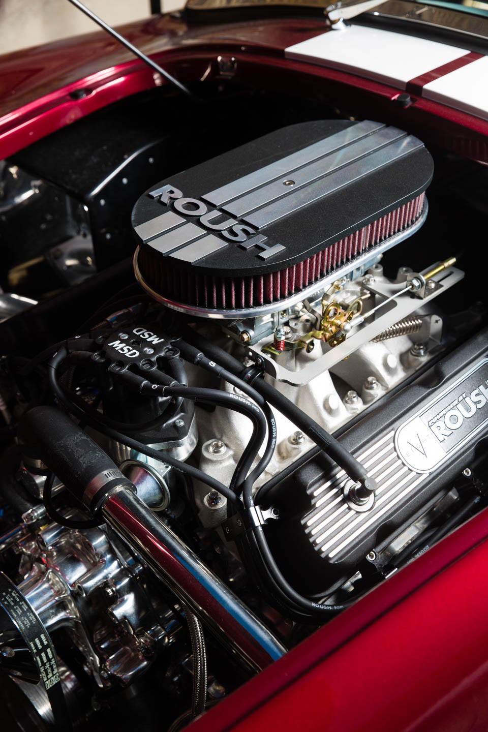 Shelby Cobra replica engine