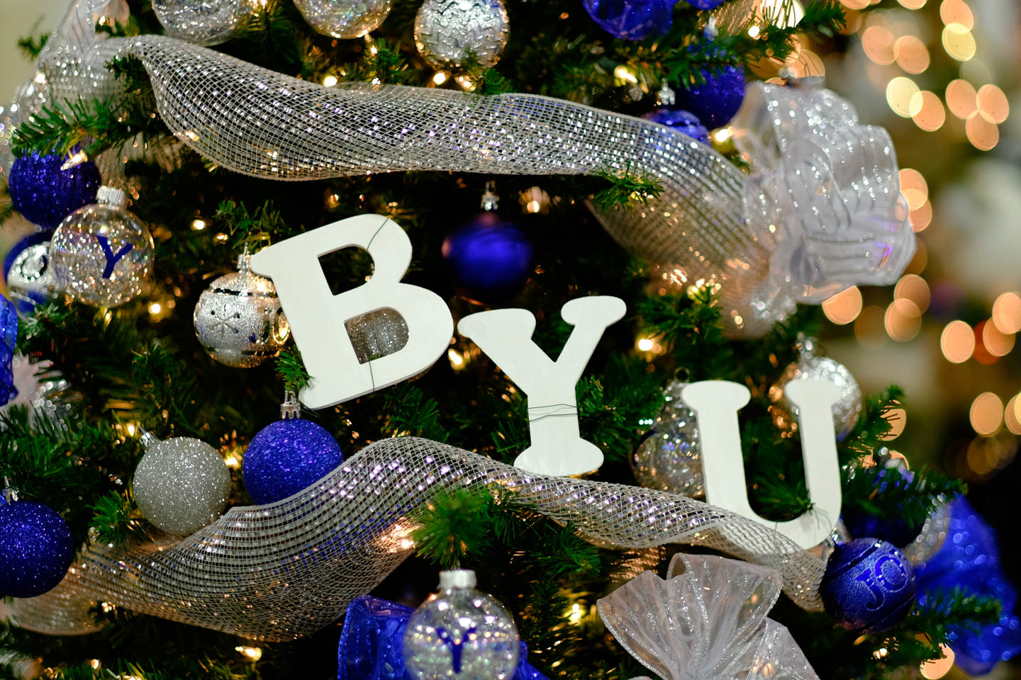 BYU Christmas Tree
