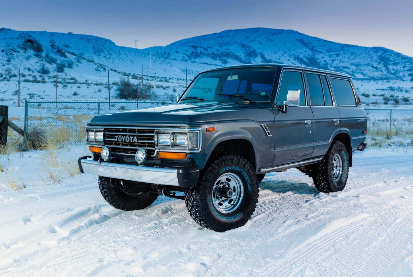 Toyota Land Cruiser from the 1980s