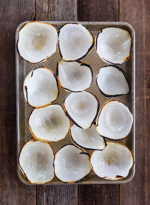 Charred Onion Petals