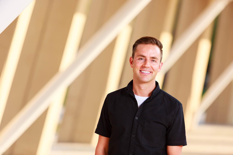 Architect headshot at the Salt Lake Library