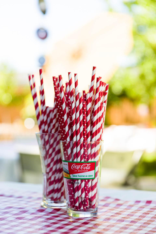 Soda straws