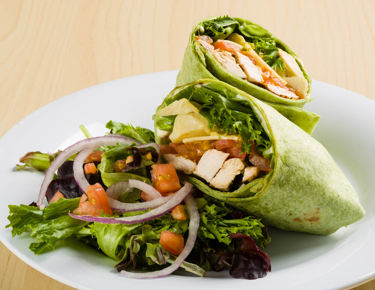 Artichoke Chicken Wrap