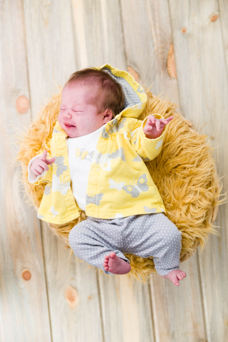 Little Baby Hazel in Yellow