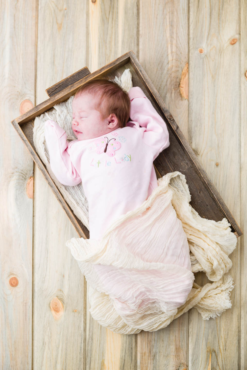 Little Baby Hazel for her newborn baby shoot