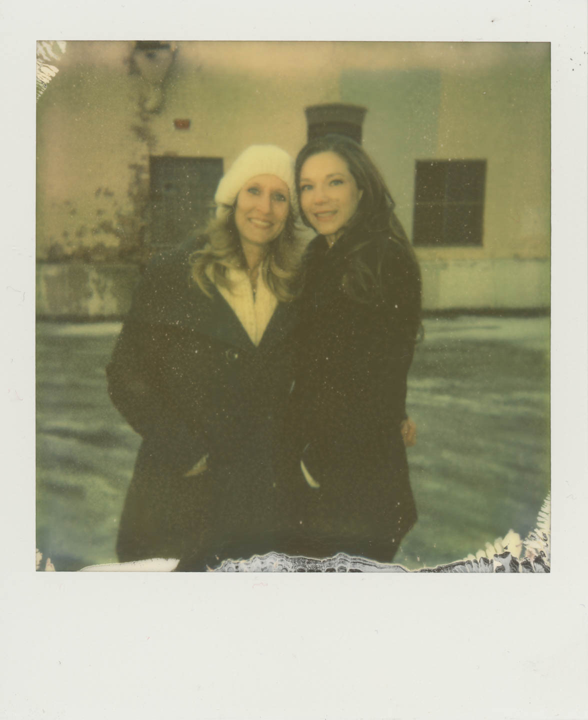 Polaroid photo!
