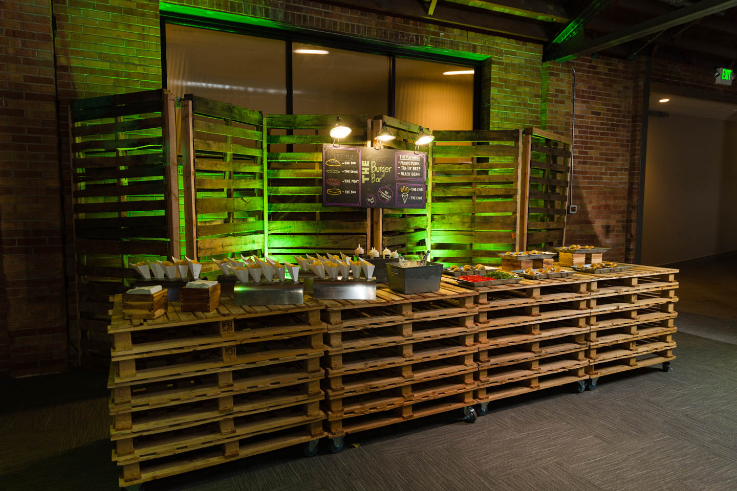 LUX Food stations
