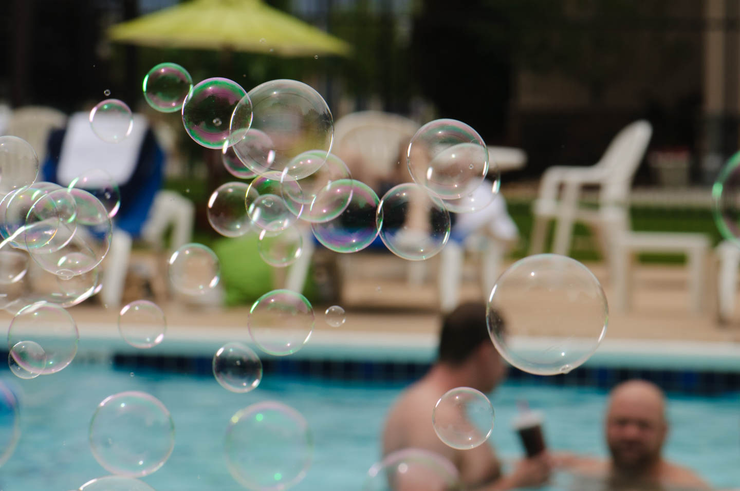 Bubbles for atmosphere