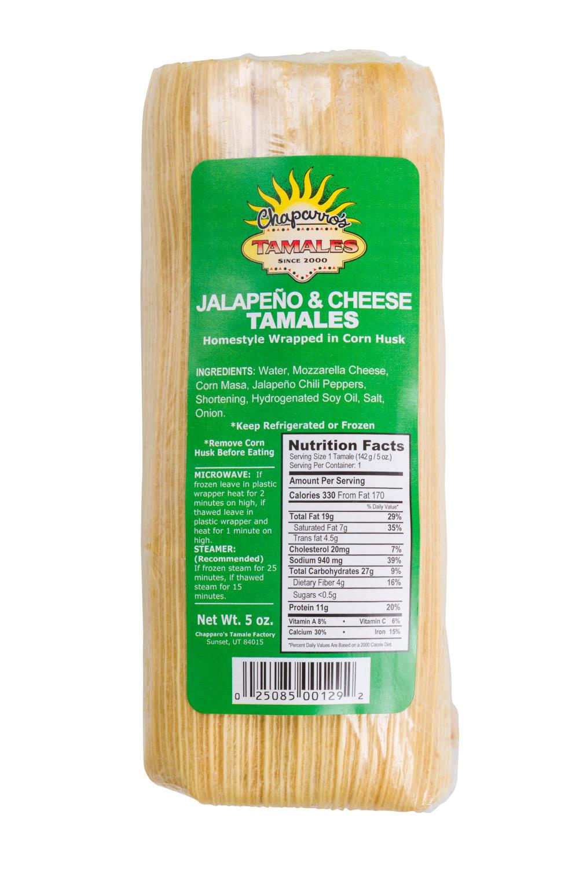 Jalapeño & Cheese Tamale