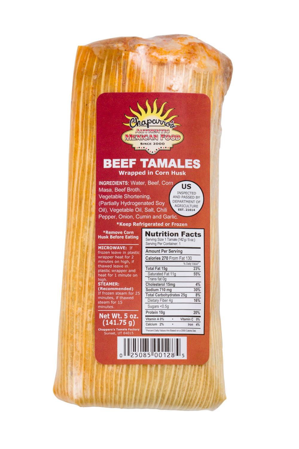 Beef tamales