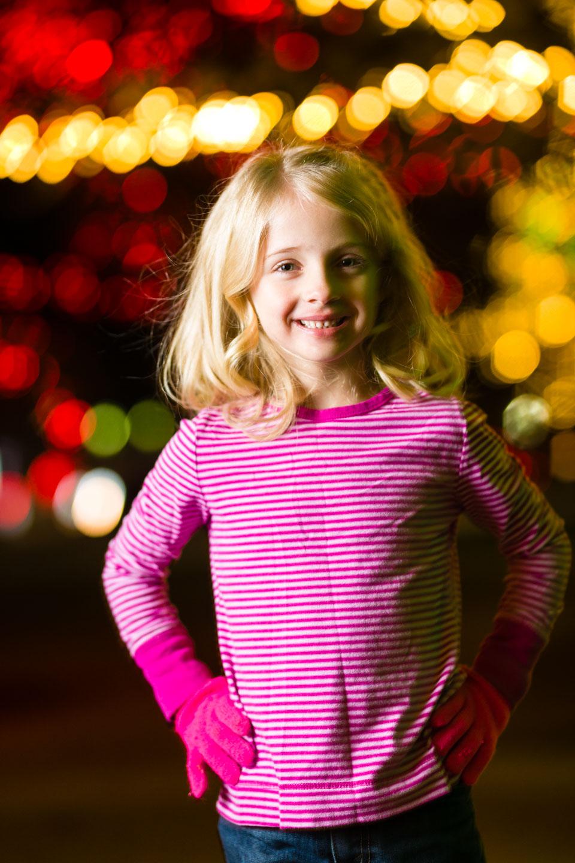 Eve's Christmas Portrait