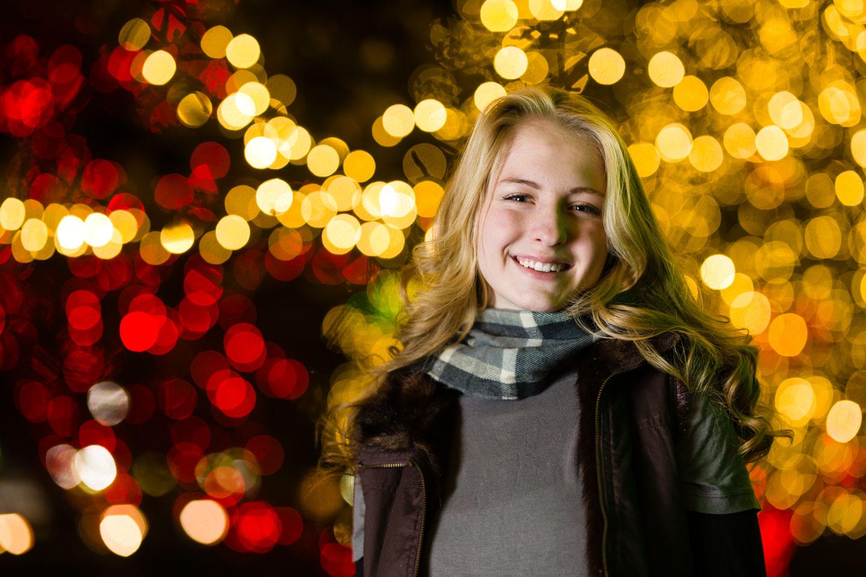 Maren's Christmas Portrait