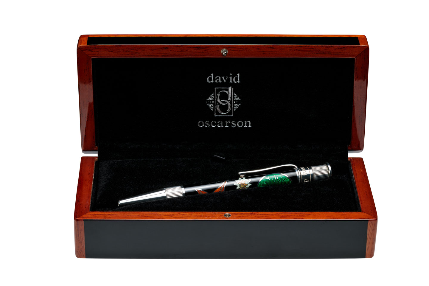 David Oscarson Pen and Case