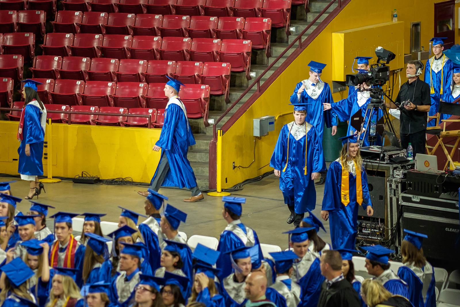 Matthew's high school graduation from Mesquite H.S. in Gilbert, Arizona