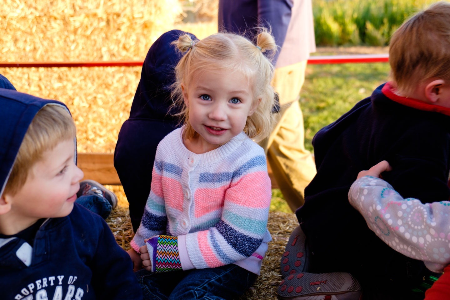 Ready for a hay ride