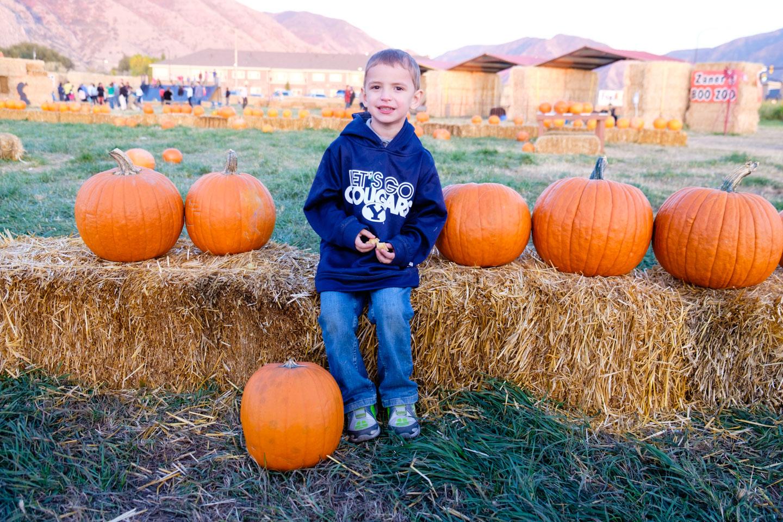 Ben's amazing Pumpkin