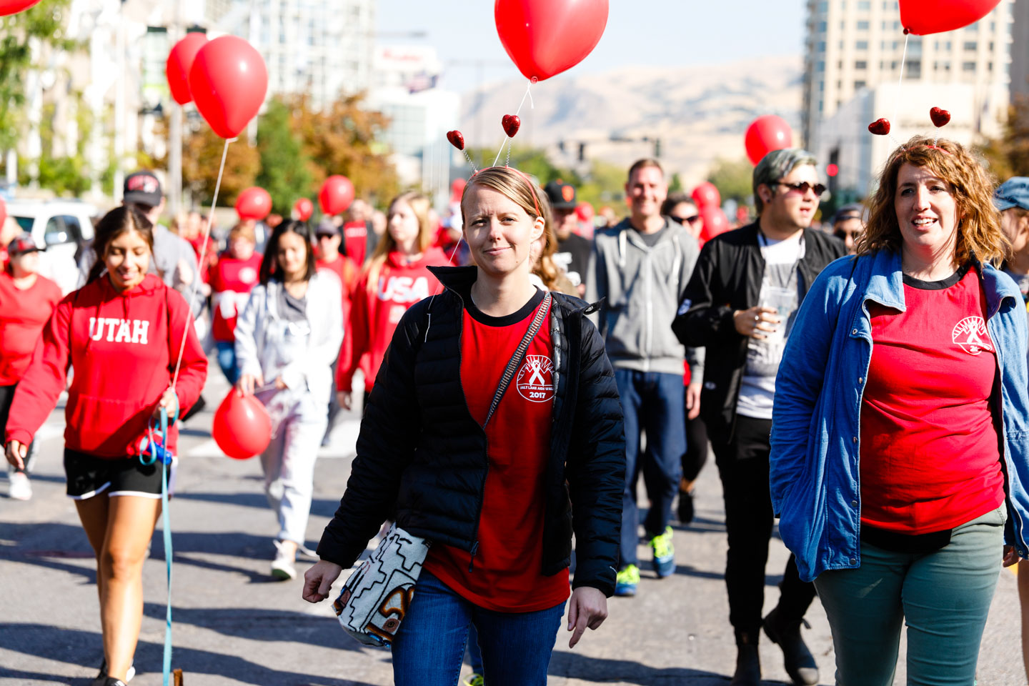 The Walk for Life with the Utah AIDS Foundation