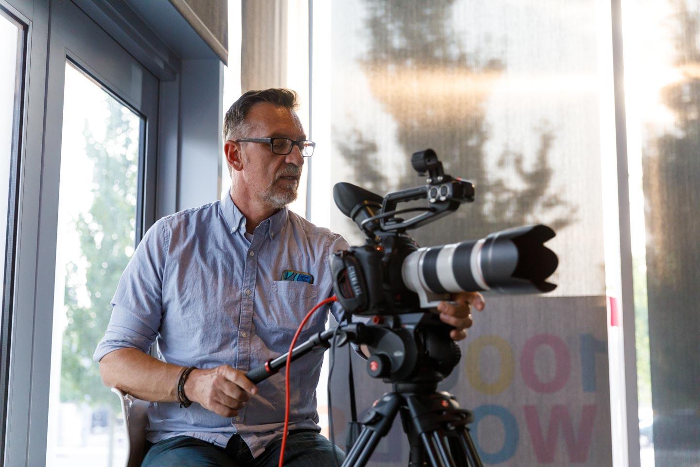 Videographers a plenty