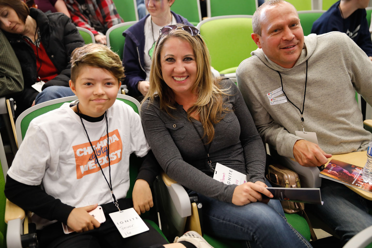 Families attend Ignite