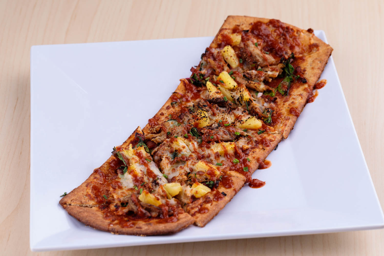 Hawaiian BBQ Flatbread