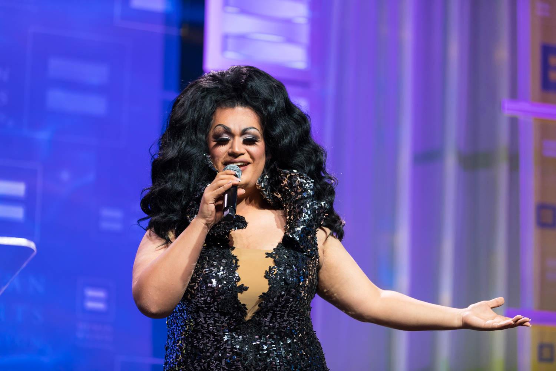 Ada Vox performs at HRC Gala