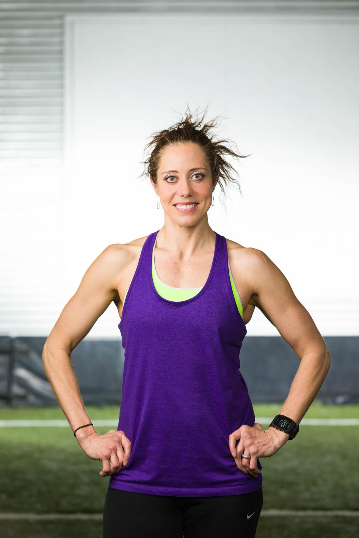 Rachel Hone, fitness trainer