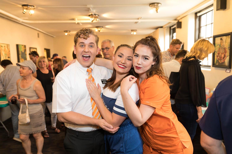 Actors in Saturday's Voyeur