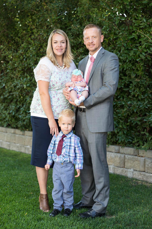 Ainsley's family