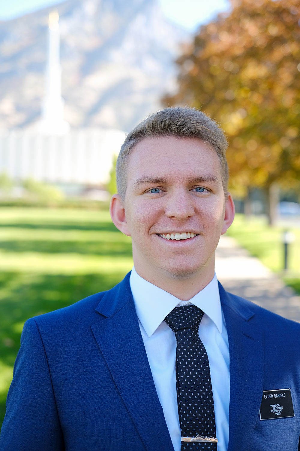 Elder Daniels and the Provo Temple