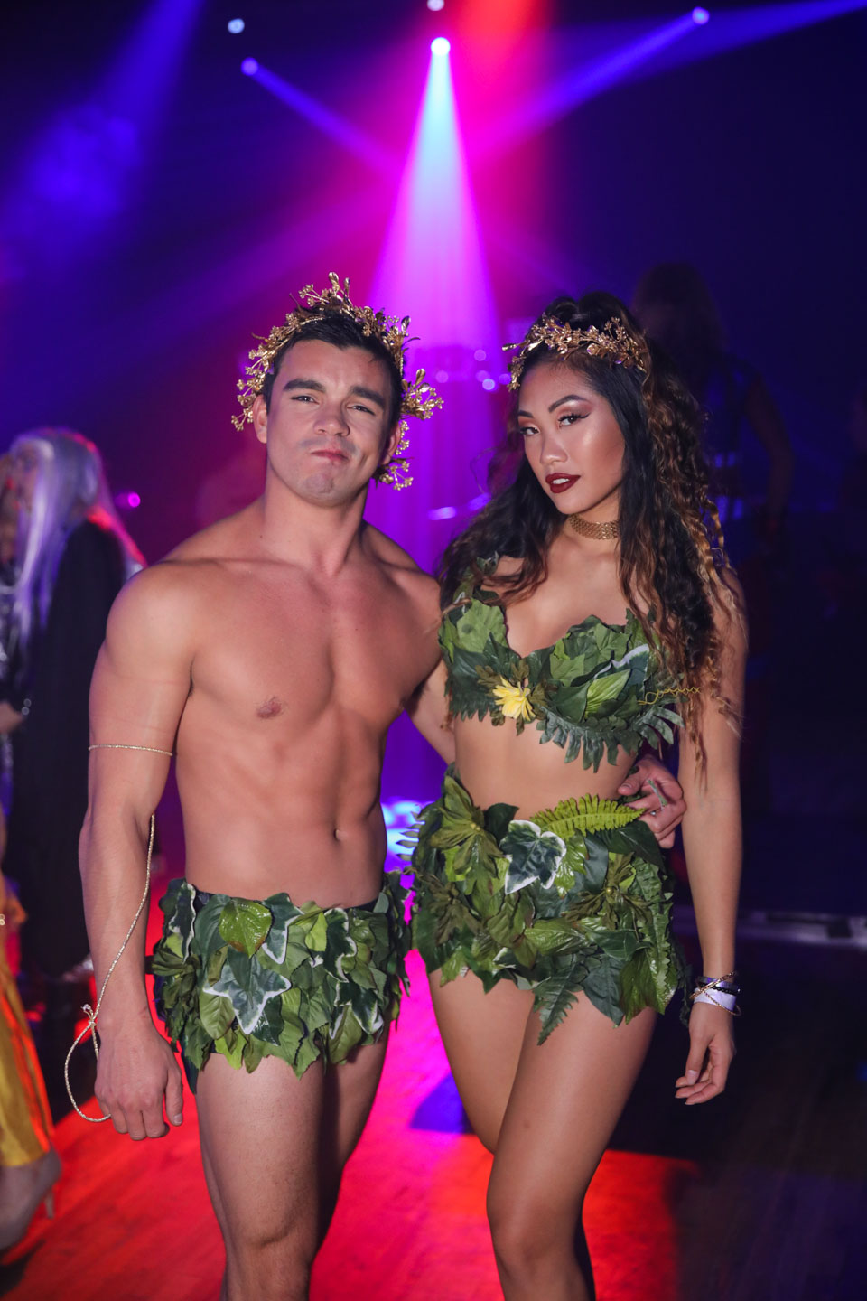 Adam & Eve costume