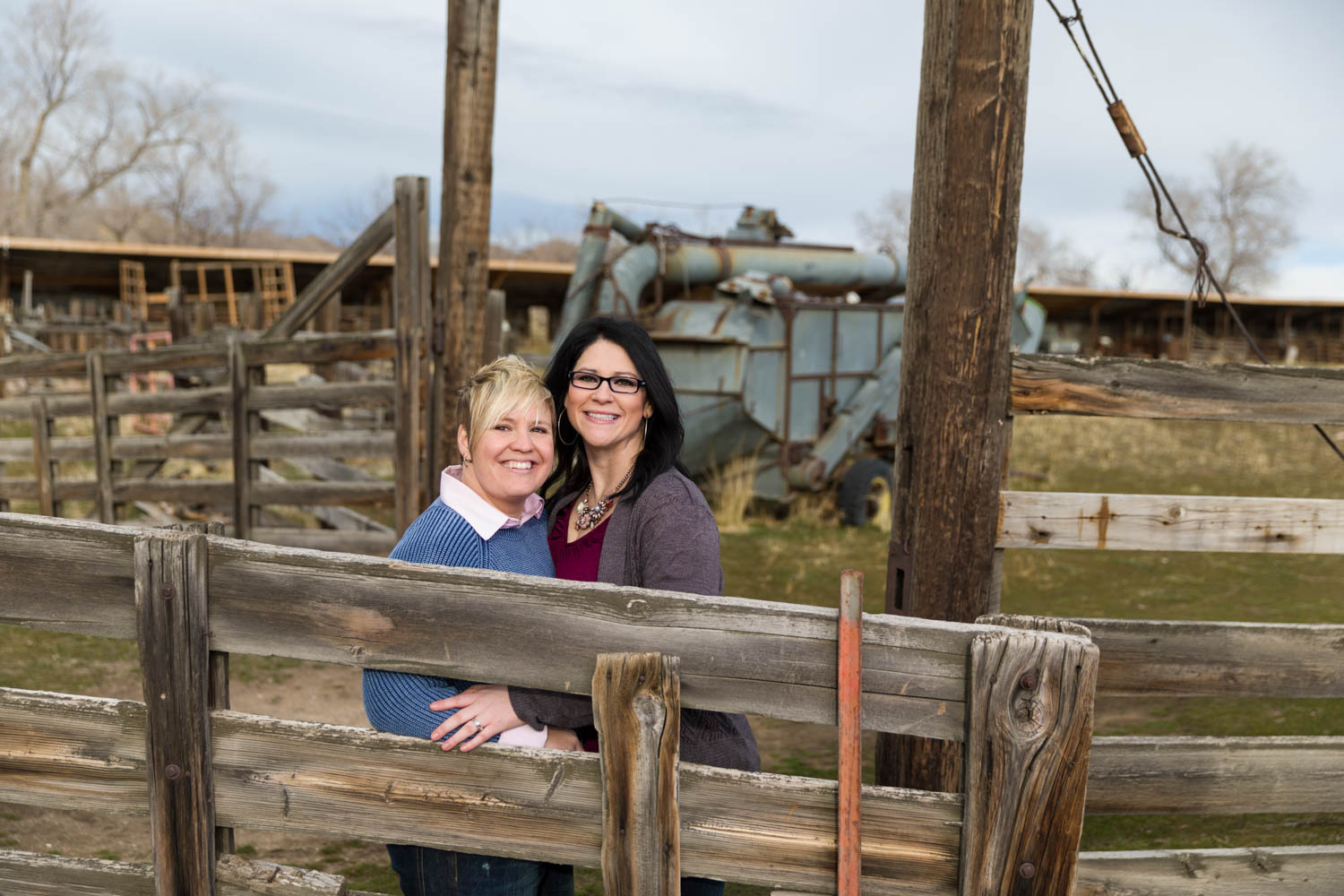 Engagements with Becky and Stephanie at fielding Garr