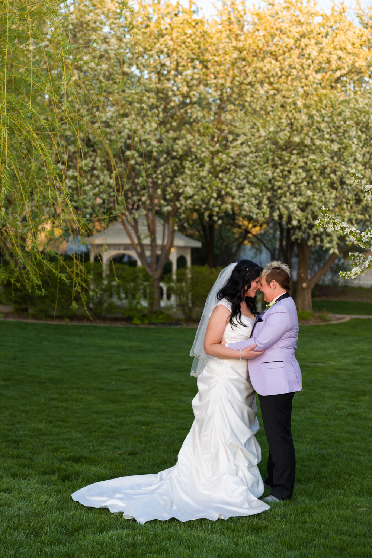 Wedding photos at the Chantilly Mansion