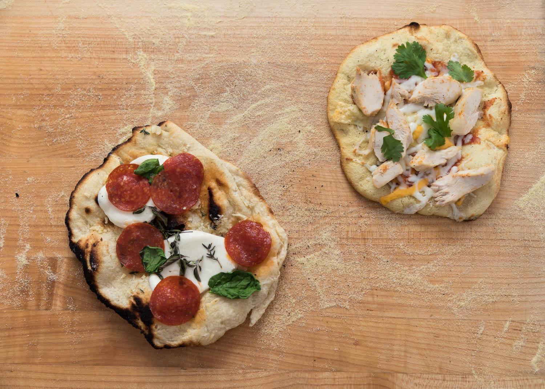 Italian style pizza
