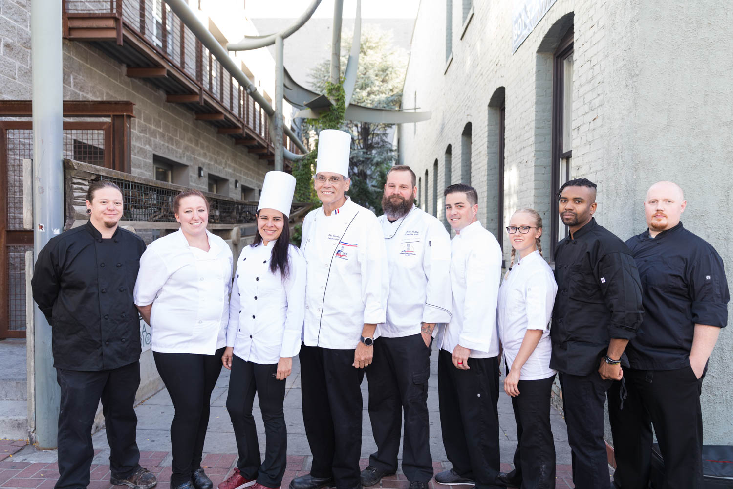 The chef team