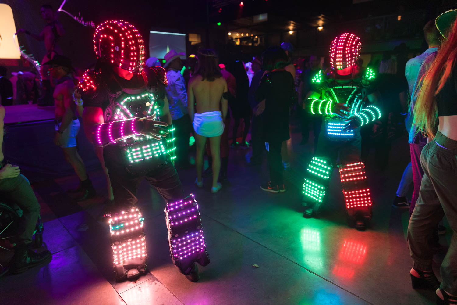Light robots from Voodoo Productions