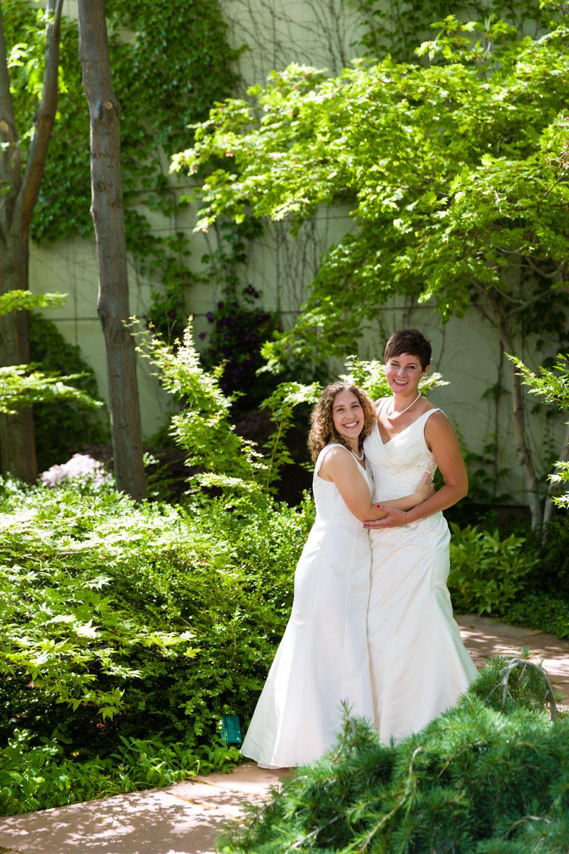 Brides at Red Butte Garden