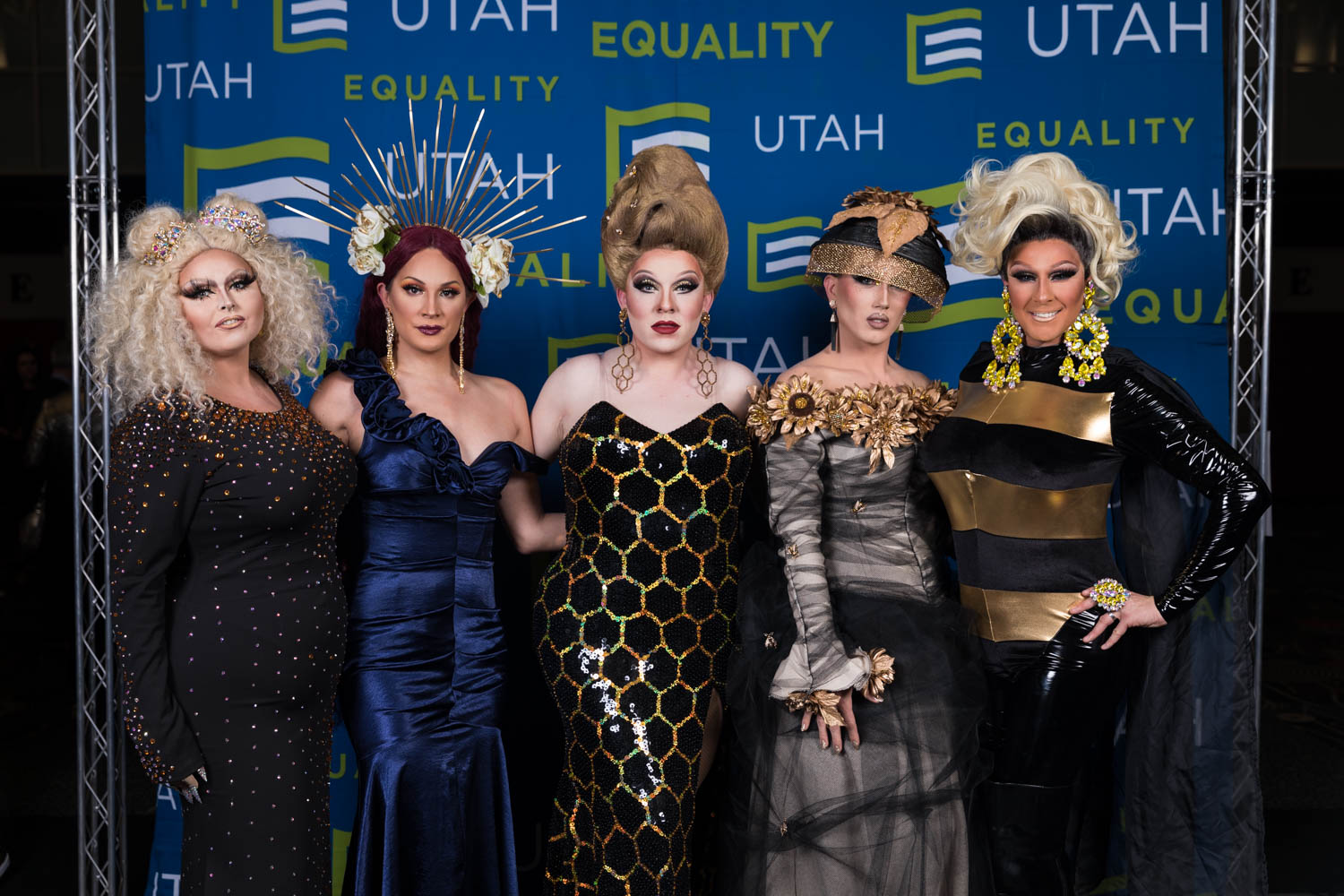 A gaggle of drag
