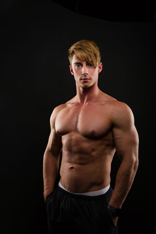 Tyson's fitness photograph