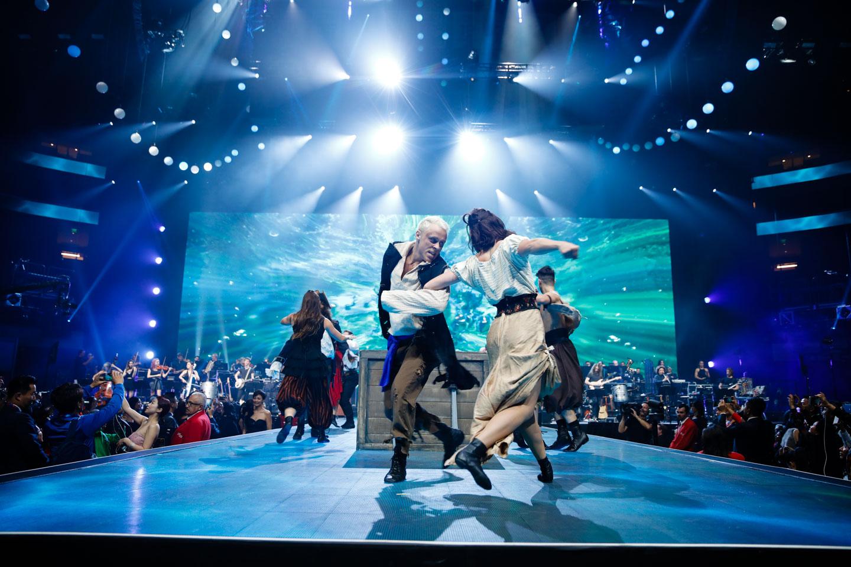 Dance finale