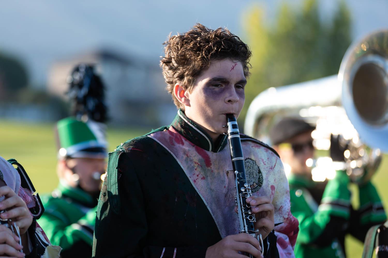 Zombie clarinetist